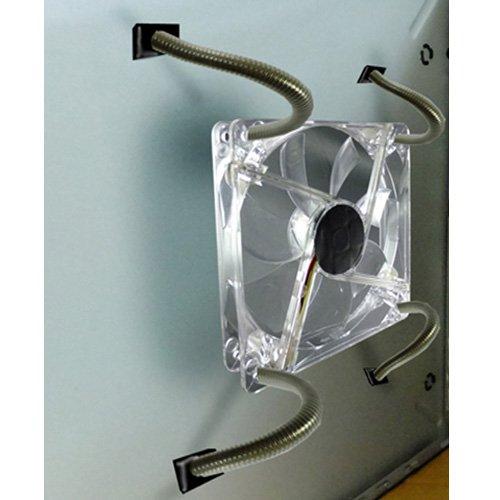 Akust Magnetisch Lüfterhalterung für PC Fall Fan, 4 pack