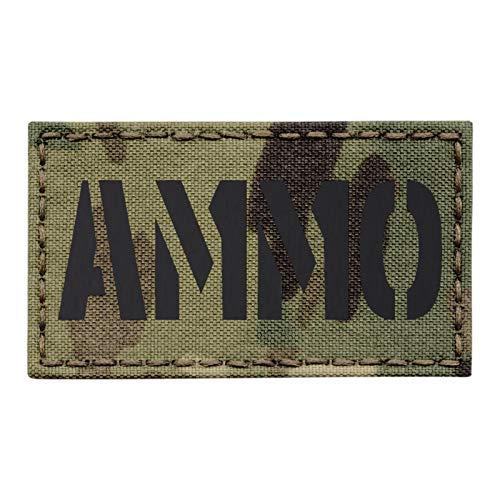IR Multicam Ammo US Army Tactical Morale Hook&Loop Patch
