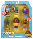 This colourful figurine set includes 6 character figurines Betty, tag, Roly, Norrie, Happy and Duggee! these endearing figurines are perfect for little hands to grasp and will help fine motor skills whilst encouraging little ones to use their imagina...