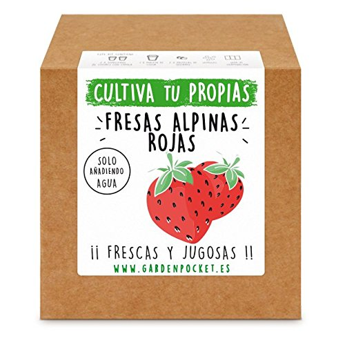 Garden Pocket - Kit cultivo FRESAS ROJAS