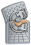 Zippo 17182Oro Save Emblema–Special Collection 2017–Street Chrome Mechero, Cromo, Plata, 6x 4x 2cm