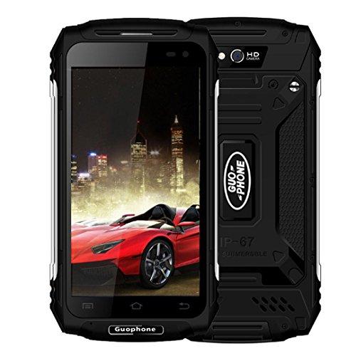 Preisvergleich Produktbild JIANGFU Guophone X2 5.0''MT6737 Quad-Core 2G + 16G entsperren Staub / Schock / wasserdicht smartPhone (Schwarz)