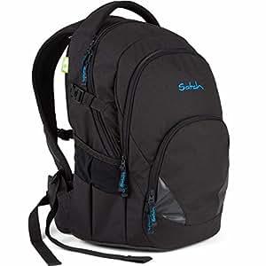 SATCH Bounce Schulrucksack SAT-BAS-001-801, 43 cm, 27 L, Black