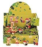 Geschenkestadl 24 Stück Display Glücksschweine und Schornsteinfeger in Tüte Glücksbringer