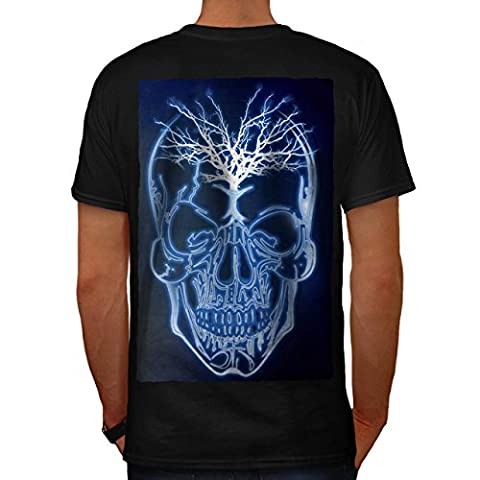 Bolt Metal Novelty Skull Men XL T-shirt Back | Wellcoda