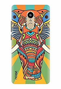 Noise Designer Printed Case / Cover for Lyf Water 7 / Nature / Rainbow Murial Elephant Design