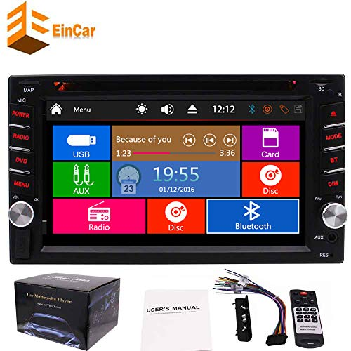 EINCAR Ankunft! Dash 3 Optional UI In Doppel-DIN-Wince-System 6.2 Zoll Auto Stereo 2 din Head Unit Autoradio Bluetooth kapazitive Touchscreen Auto-DVD-Muti-Media-Player-Unterst¨¹Tzung 1080p- Optional Bluetooth