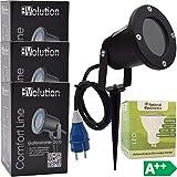 Evolution Gartenstrahler GU10 inkl. 3,5W SMD LED Aussenstrahler 3er Set