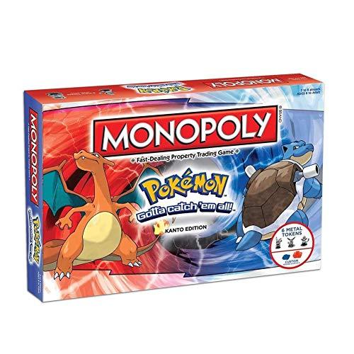 ROSEEH Monopoly Pokemon Desktop-Brettspiel