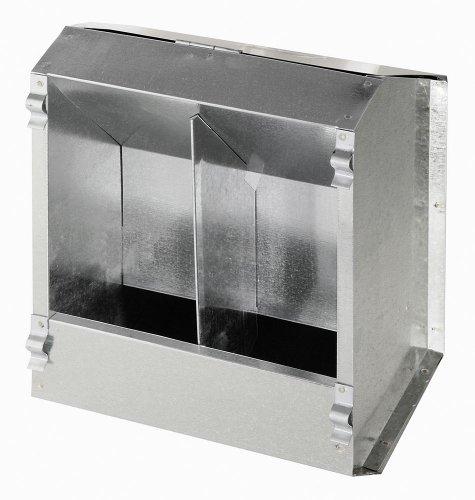 Kerbl 74102 Futterautomat für  Kaninchen 2 Freßplätze aus Metall