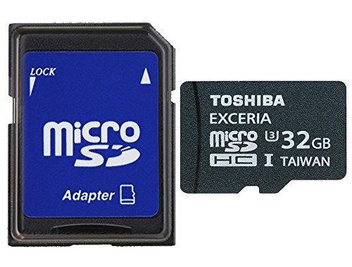 Toshiba Exceria Micro SDHC 32GB Class 10 (bis zu 95MB/s lesen) Speicherkarte schwarz (Micro-sd-32gb Toshiba)