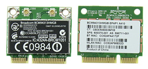 HP WLAN Wireless Bluetooth 3.0 Card BCM94313HMGB 600370 – 001 G6 CQ42 DV6 G43, [Import UK-] (Bluetooth-adapter Hp)