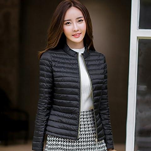 WJP donne ultra leggero rivestimento Packable gi? Outwear tampone piumino W-663