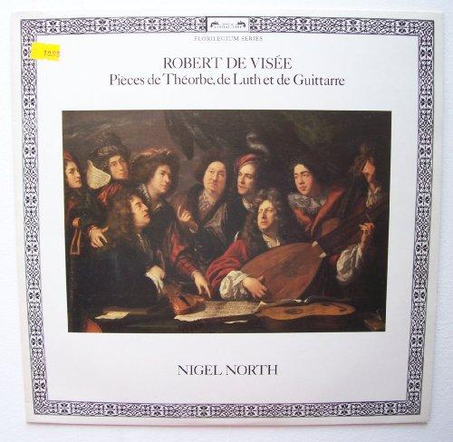 Werke für Theorbe, Laute und Gitarre (1978, Decca, & Nigel North) / Vinyl record [Vinyl-LP] -