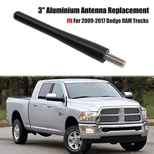 Auto-Antenne-fr-Ram-Trucks-boxatdoor-76-cm81-cm-6-mm-am-FM-Antenne-KFZ-Antenne-Schlank-Metall-schwarz-fr-Ram-Trucks-2009-2017