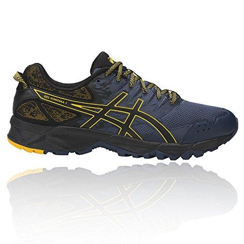 Asics Gel-Sonoma 3, Chaussures de Trail Homme, Bleu (Insignia Blue/Black/Gold Fusion), 44 EU