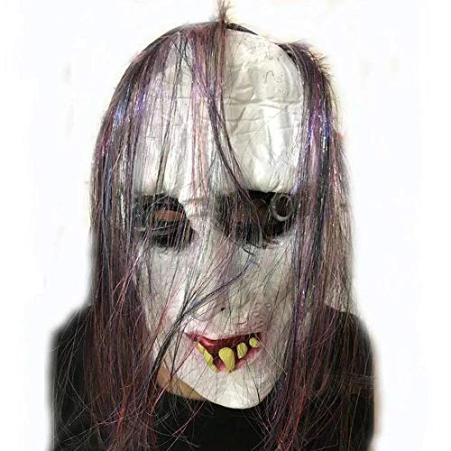 Schwarze Maske beängstigend Trick lustige Show Party Gesichtsmaske ()
