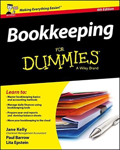 Bookkeeping For Dummies by Jane E. Kelly (2016-04-25)