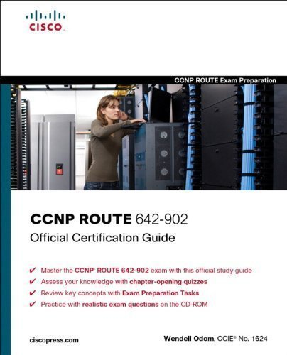 CCNP ROUTE 642-902 Official Certification Guide (CCNP Route Exam Preparation) of Odom, Wendell 1st (first) Edition on 09 February 2010