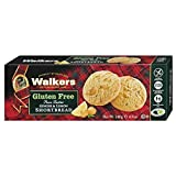 Galletas de Jengibre, Mantequilla y Limón, Sin Gluten, Marca Walker (set de 4 paquetes)