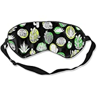 Eyes Mask Promotion Cactus Print Sleep Mask Contoured Eye Masks for Sleeping,Shift Work,Naps preisvergleich bei billige-tabletten.eu