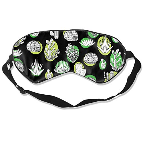 Eyes Mask Promotion Cactus Print Sleep Mask Contoured Eye Masks for Sleeping,Shift Work,Naps Tiger Print Shift