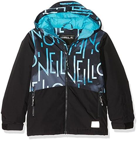 O'Neill Pb Hubble Jacket Blouson de Ski Garçon, Black Aop,