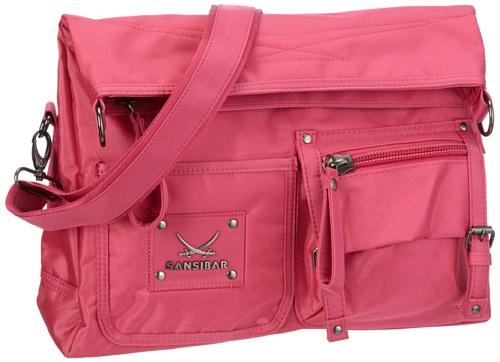 Sansibar Twister Ltd. Edition B-961 TL 20, Borsa a tracolla donna, 33 x 25 x 11 cm (L x A x P) Rosa (Pink (fuxia))