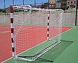 Softee 0013460 Juego Redes Fútbol Sala/Balonmano, Unisex, Blanco, Talla Única