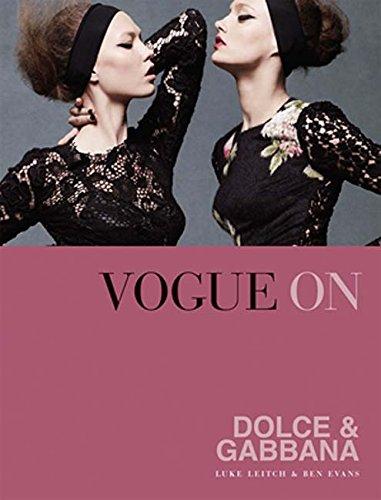 Vogue on Dolce & Gabbana (Vogue on Designers) par Luke Leitch