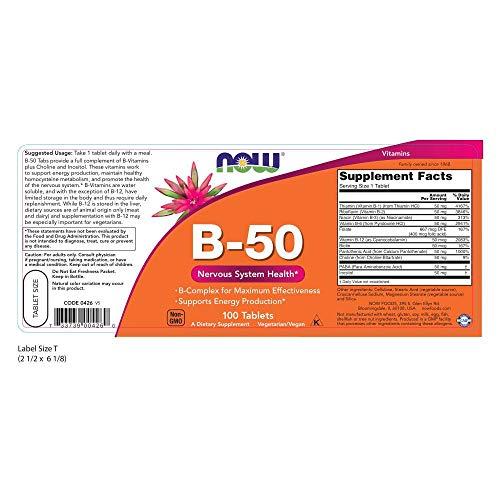 51wiQmSEHtL - Vitamina B-50 - 100 tabs