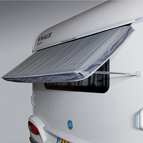 Preisvergleich Produktbild Wohnmobil Fenster-Markise 180x75cm,  mit Keder und Saugnöpfen: Wohnwagen Sonnendach Fenster Markise Wohnwagenmarkise
