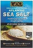 Geo Organics Atlantic Sea Salt, 250 g