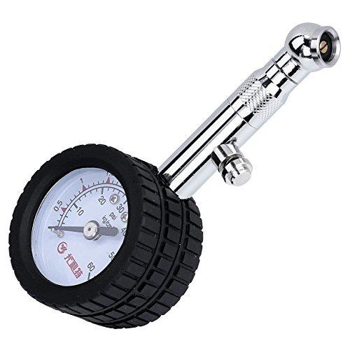 Graceme - Manómetro de presión de neumáticos para coches, camiones, UTV, bicicletas, VTT, motos...