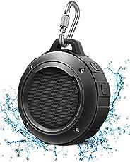 LENRUE Waterdichte bluetooth-luidspreker, draadloos, mini draagbare douche luidspreker met HD-stereo, 8 uur sp
