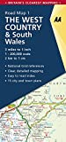 Road Map Britain 01. West Country & South Wales 1 : 200 000 (Aa Road Map Britain, Band 1)