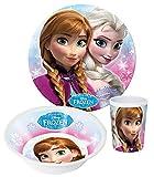 Frozen die Eiskönigin 3 Tlg. Melamin Geschirr