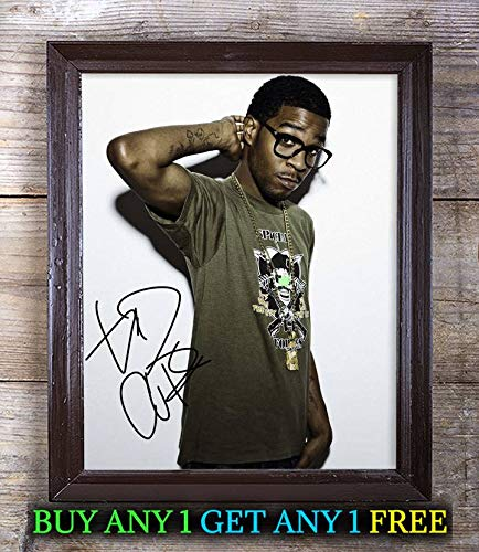 Kid Cudi Man On The Moon: The End of Day Autographed 8x10 Photo Reprint #72 Special Unique Gifts Ideas for Him Her Best Friends Birthday Christmas Xmas Valentines Anniversary Fathers Mothers Day