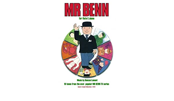 MR BENN Clarinet 10 Tunes from TV series Lamont