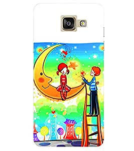 Doyen Creations Designer Printed High Quality Premium case Back Cover For Samsung Galaxy A7 2016 / A710