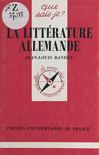 Histoire de lAllemagne: « Que sais-je ? » n° 186 (French Edition)