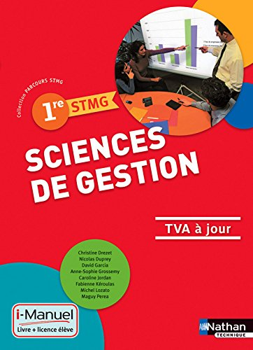 Sciences de gestion - 1re STMG