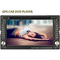 Schermo EinCar GPS Navi tocco resistente Audio Stereo Radio Automotive Autoradio BT Musica Car In Deck stereo universale 2 DIN Video Monitor Car DVD Player EQ Subwoofer iPod Car