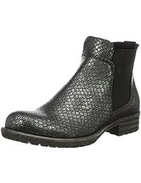Bullboxer AEQF6S514 - Zapatillas de cuero para mujer (Chelsea Boots)