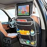 Organizador coche | Organizador coche infantil | Organizador asiento coche | Protector asiento coche | Organizador de juguetes para coche | Soporte para Tablet Android & iOS | Soporte Tablet coche