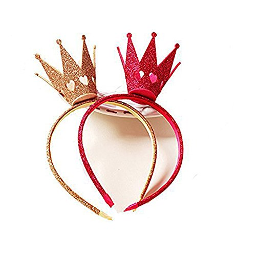Ever Fairy® Mädchen Shiny Crown Haarband Prinzessin