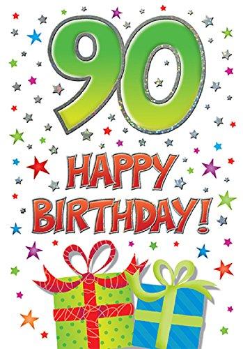 Tarjeta de 90 cumpleaños
