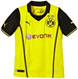 PUMA Kinder BVB UEFA Champions League Trikot 2013/14, blazing yellow-black, 176, 743562 01