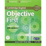 Objective first certificate. Student's book. With answers. Con espansione online. Per le Scuole superiori. Con CD-ROM