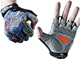 JERN Breathable Anti-Slip Cycling Gel Padding Bike Gloves